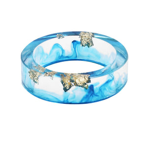 Unisex Resin Ring (Light Blue)