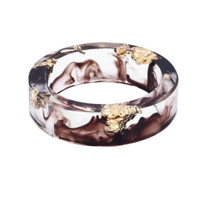 Unisex Resin Ring (Brown)