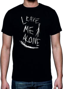 Slenderman T-shirt / Leave Me Alone