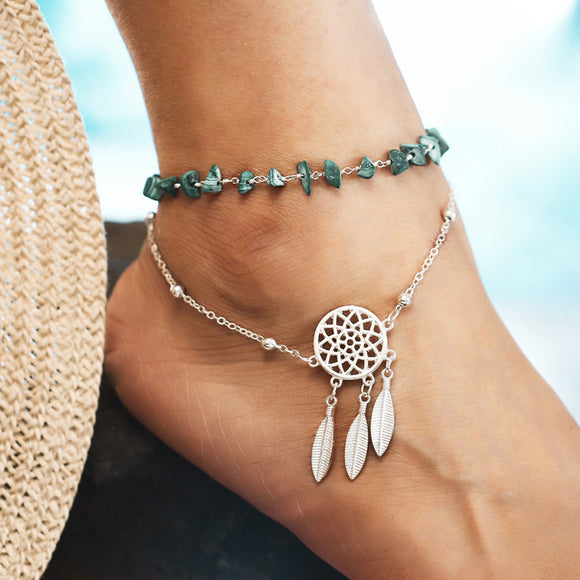 Dream Catcher Anklet