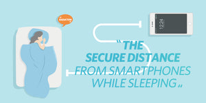 What Is The Secure Distance From Smartphones While Sleeping?