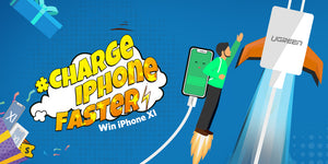 How to Faster Charge Your iPhone? Get UGREEN Super Gift Box!