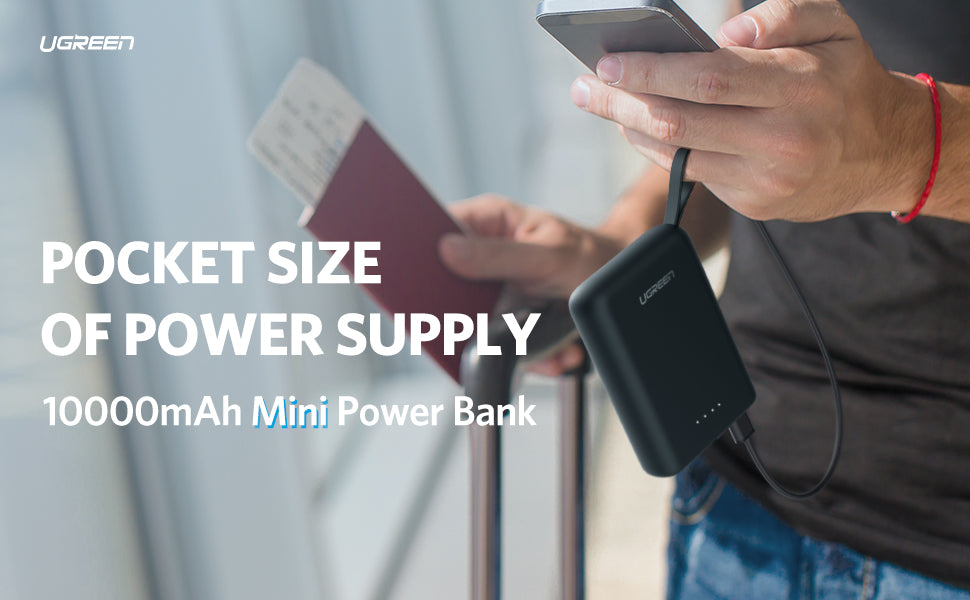 Portable 10000mAh Power Bank