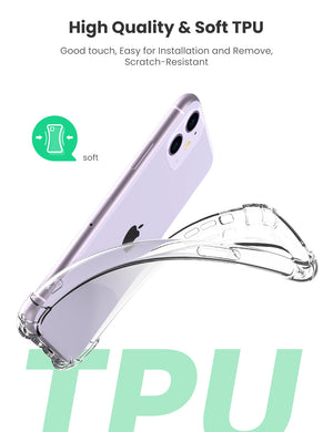 Clear Protective Case for iPhone 11