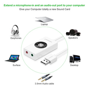 USB External Sound Card