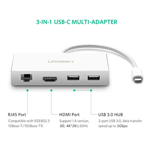 USB C to HDMI USB 3.0 Adapter