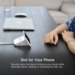 4 Port USB 3.0 Hub Phone Stand