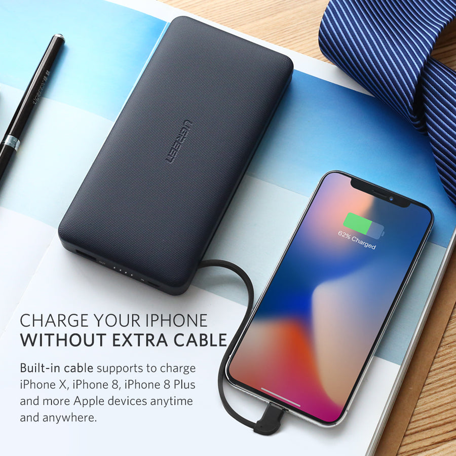20000mAh Power Bank for iPhone X