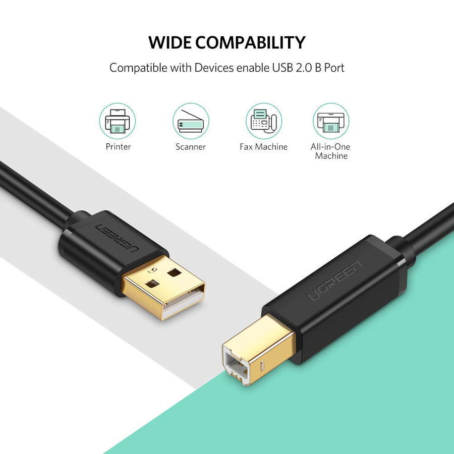 USB 2.0 High Speed Printer Cable