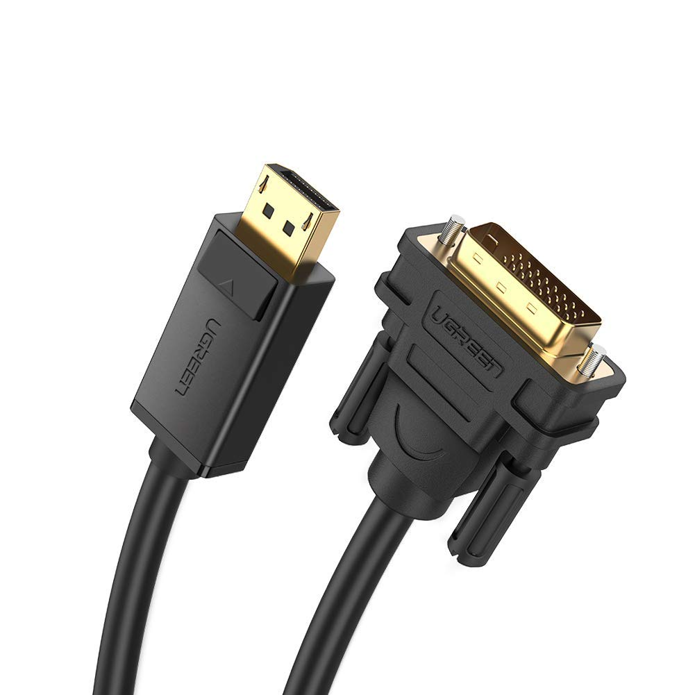 6ft DVI-D Male to Male Monitor Graphics Video Cable HD TV LCD