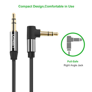 90 Degree 3.5mm Audio Aux Cable - Ugreen