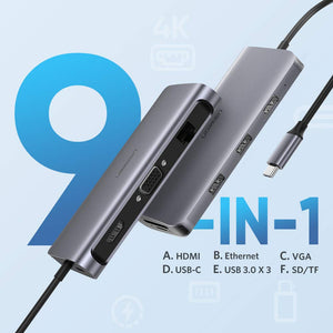 9-in-1 USB C Hub - Ugreen