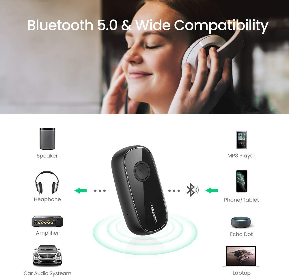 Bluetooth 5.0 Aux Adapter