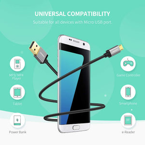 Micro USB Fast Charging Data Cable - Ugreen
