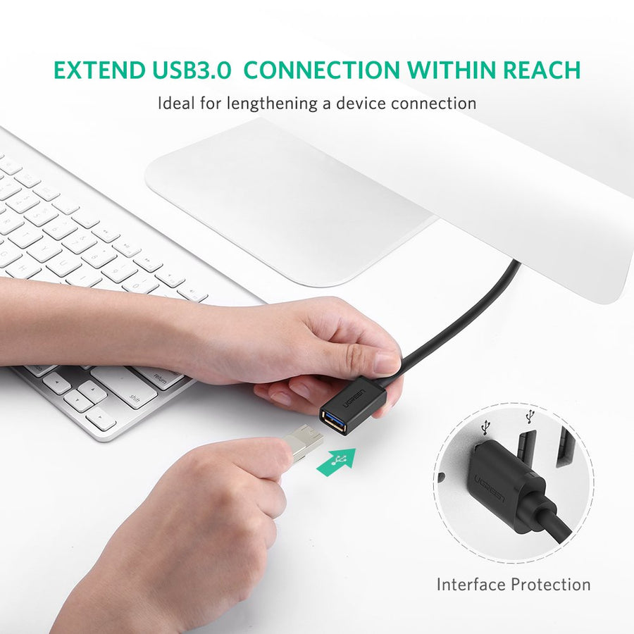 2 Pack USB 3.0 Extension Cable - Ugreen
