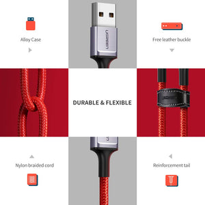 Nylon Braided USB C Cable