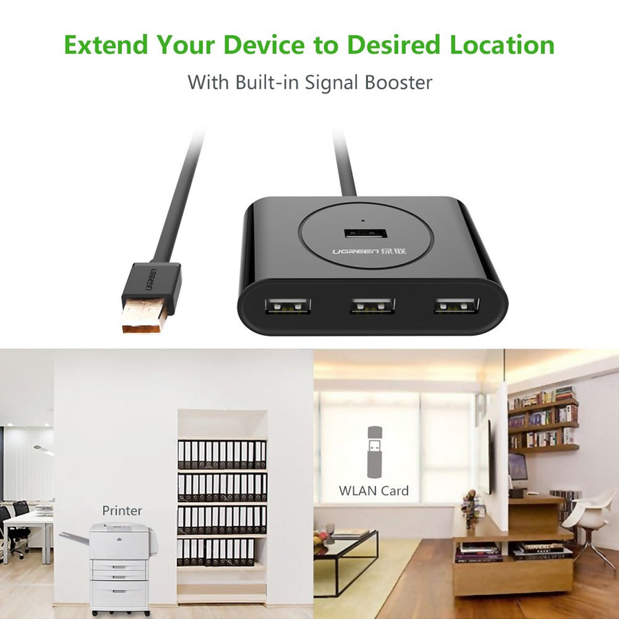 USB 2.0 Active Extension Hub