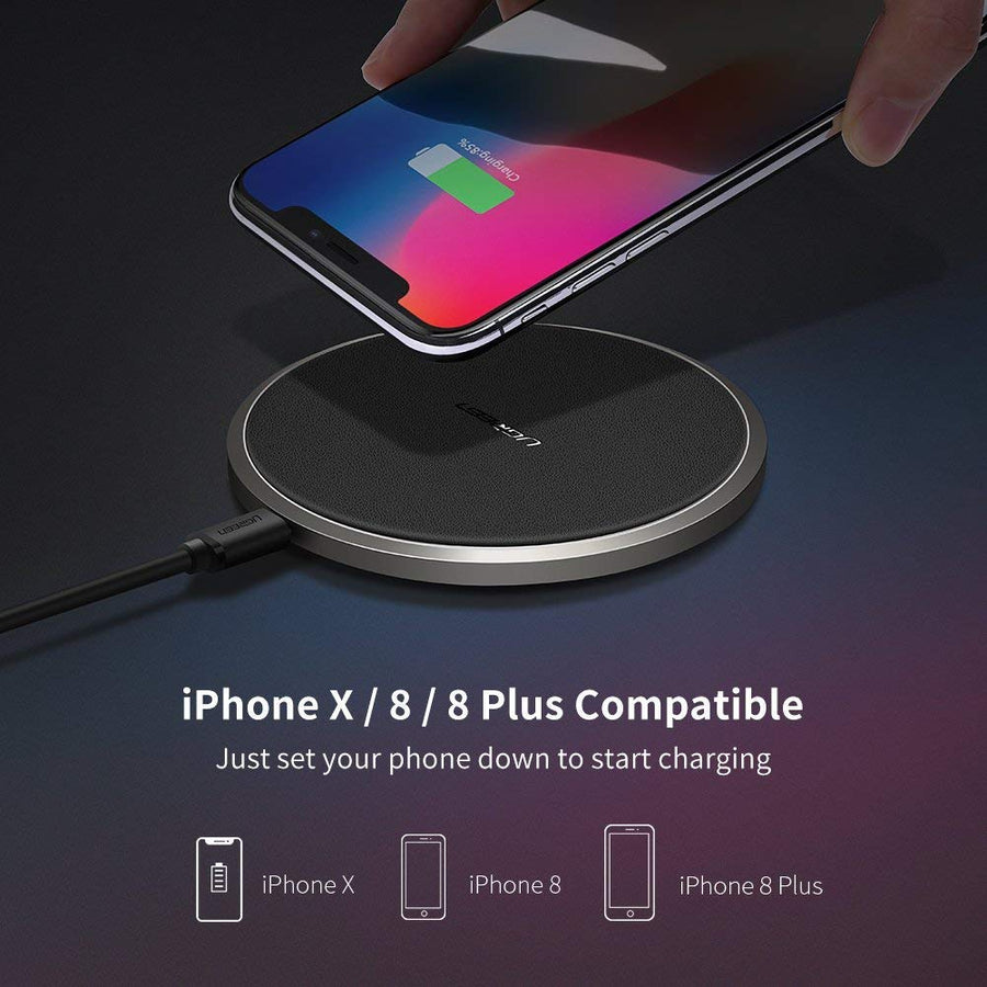 10W Qi Fast Wireless Charger