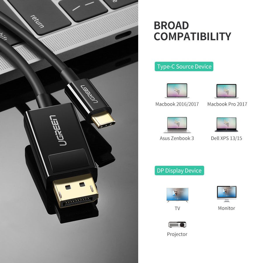 Premium USB C to DP Cable