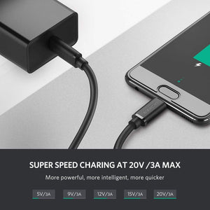 USB C to USB C Fast Charging Cable
