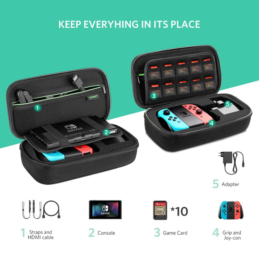 Travel Case for Nintendo Switch - Ugreen