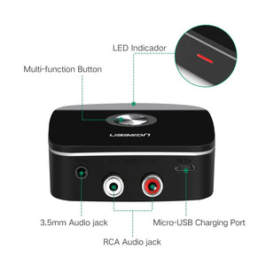 Bluetooth 4.1 Audio RCA Receiver - Ugreen