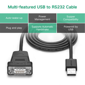 USB to DB9 RS232 Cable