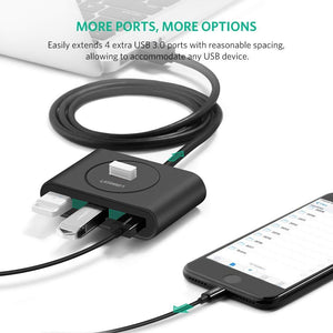 4 Port USB 3.0 Data Hub - Ugreen