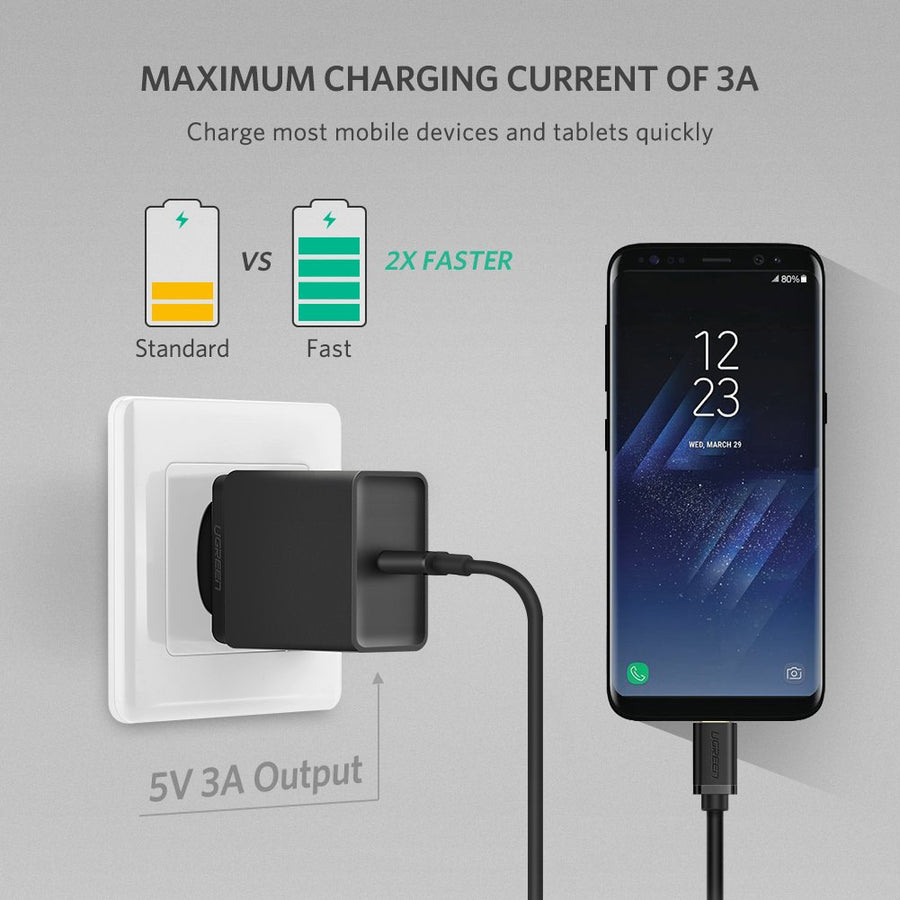 PD 2.0 USB C Power Adapter (EU Plug)