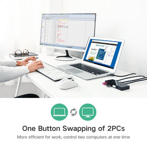 4-Port USB 3.0 Sharing Switcher - Ugreen