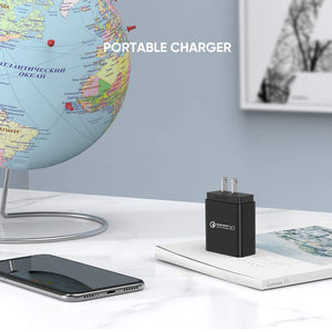18W QC 3.0 USB Wall Charger - Ugreen