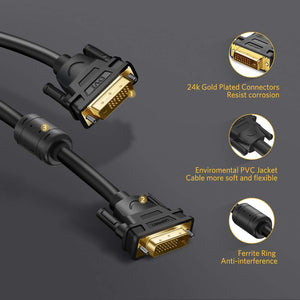 Premium DVI-D 24+1 Video Cable - Ugreen