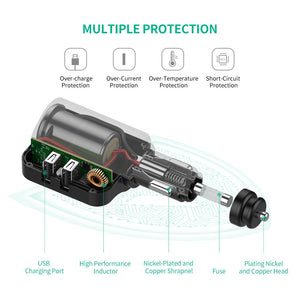 Car Charger 60W Cigarette Lighter - Ugreen