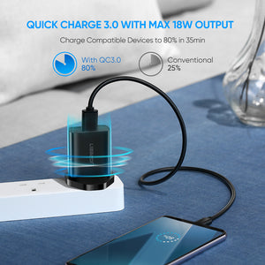18W QC 3.0 Fast USB Charger
