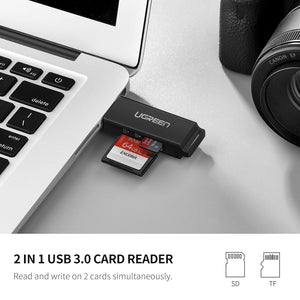 USB 3.0 Flash Memory Card Reader
