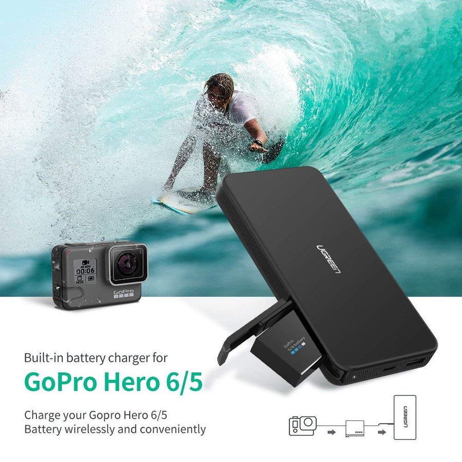 10000mAh Battery Charger for GoPro - Ugreen
