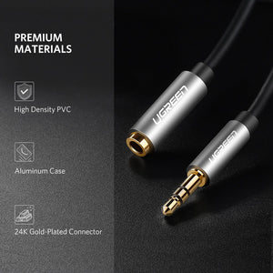 3.5mm Male to Female Extension Cable - Ugreen