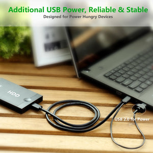 Micro USB 3.0 Y Cable Splitter - Ugreen