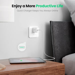18W PD 3.0 USB C Power Adapter