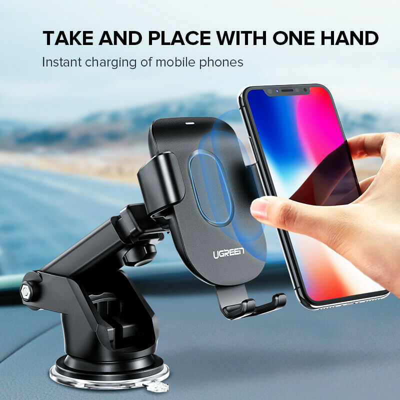 10W Wireless Car Charger Mount