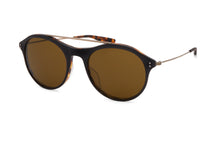 Load image into Gallery viewer, Matte Black Amber Tortoise / Antique Gold / Vintage Brown (AR)