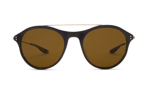 Matte Black Amber Tortoise / Antique Gold / Vintage Brown (AR)