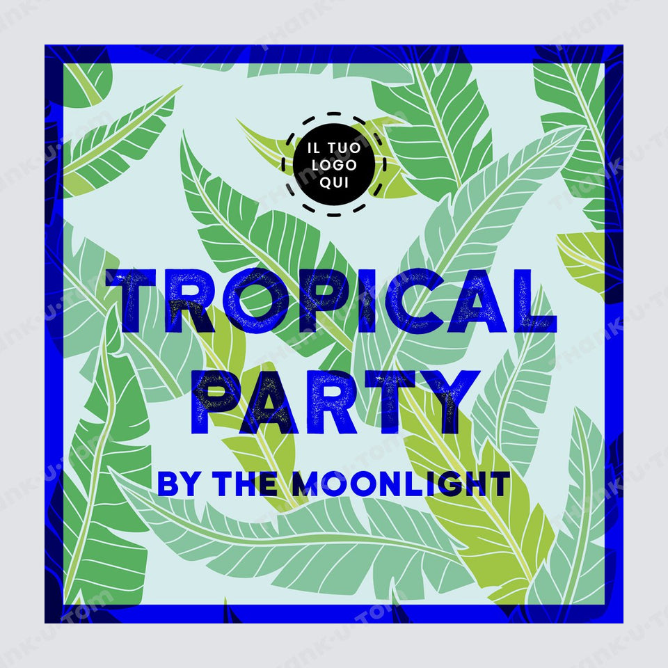T28_TropicalParty_Light_01-Thank u Tom-Post per Instagram; Grafica Tropical