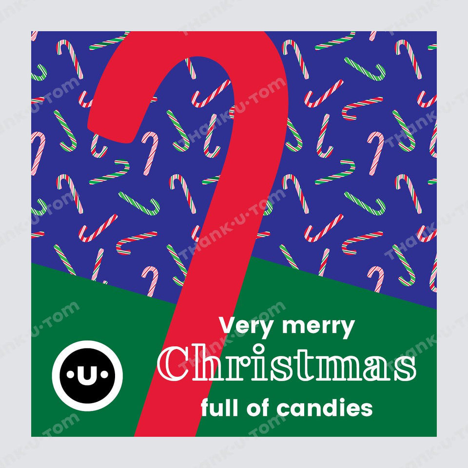 T36_Candy_Canes_02-Thank u Tom-Post per Instagram; Grafica di Natale
