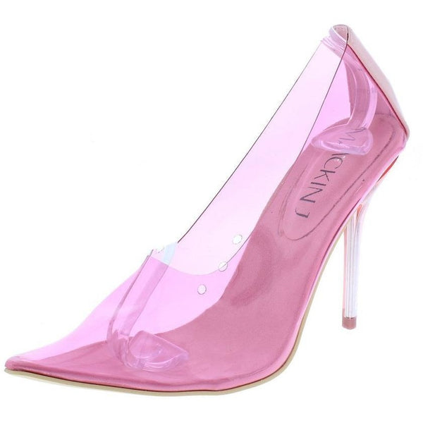 Julian-Pink PVC Pumps
