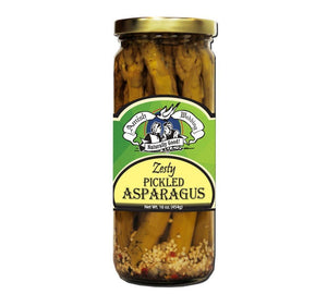 Amish Wedding Zesty Pickled Asparagus 3-pack Jarred Goods Amish Weddng