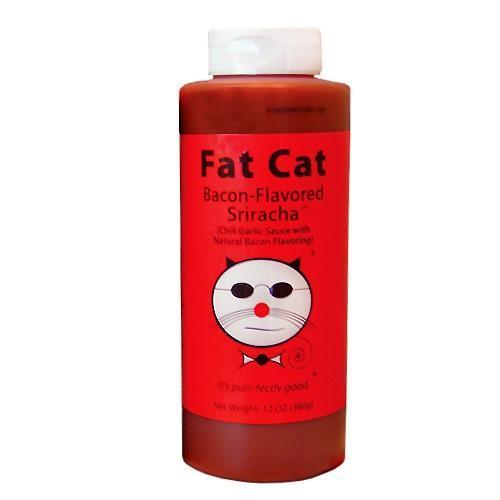 Fat Cat Bacon-Flavored Sriracha 3-pack Hot Sauce Parkesdale Market