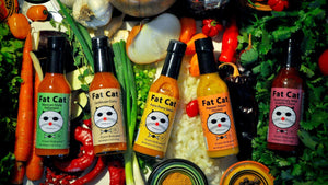 Fat Cat Carribean Curry (Hot) 3-pack Hot Sauce Fat Cat