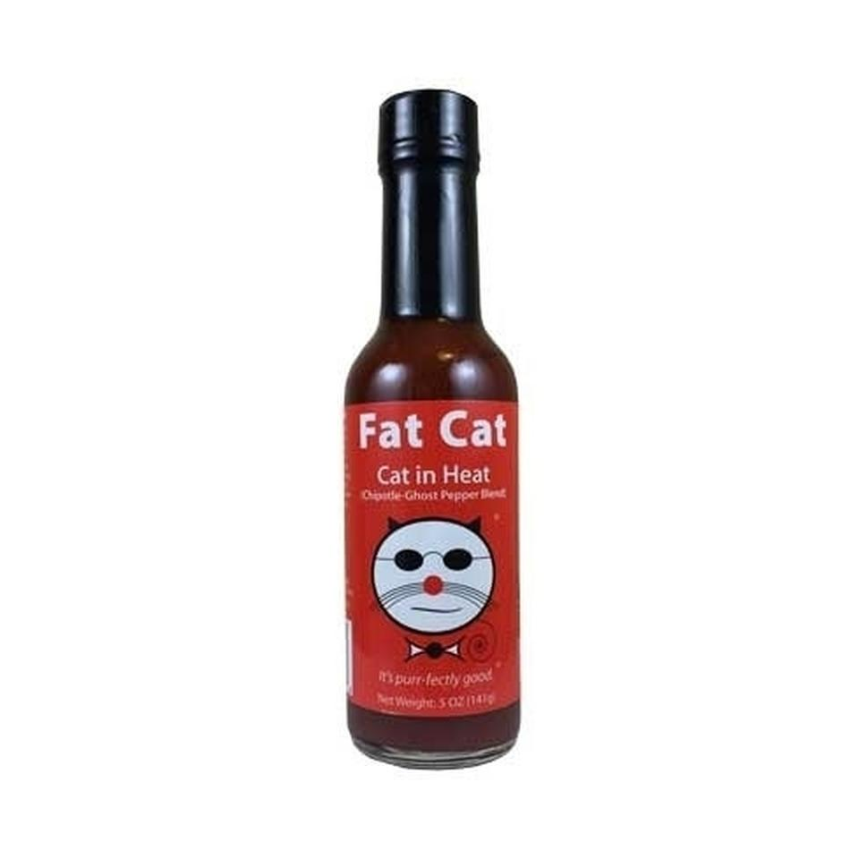 Fat Cat - Cat in Heat (Hot) 3-pack Hot Sauce Fat Cat