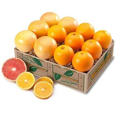 FLORIDA NAVELS AND GRAPEFRUIT MIXED PACK (Shipping Included) Gift Baskets Parkesdale Market